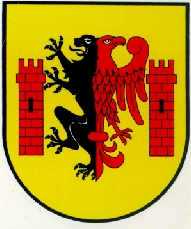 Coat of Arm, Rypin, Poland in the region of Wloclawek